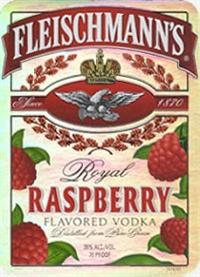 Fleischmanns Vodka Royal Raspberry